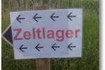 ZELTLAGER WIR KOMMEN
