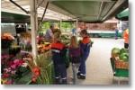 Dank an die Wochenmarkthändler in Hechthausen