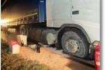 Ausbildungsübung – Hilfeleistung – Aufnehmen von auslaufendem Dieselkraftstoff