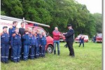 Spende der Oste-Fahrschule an die Jugendfeuerwehr Hechthausen
